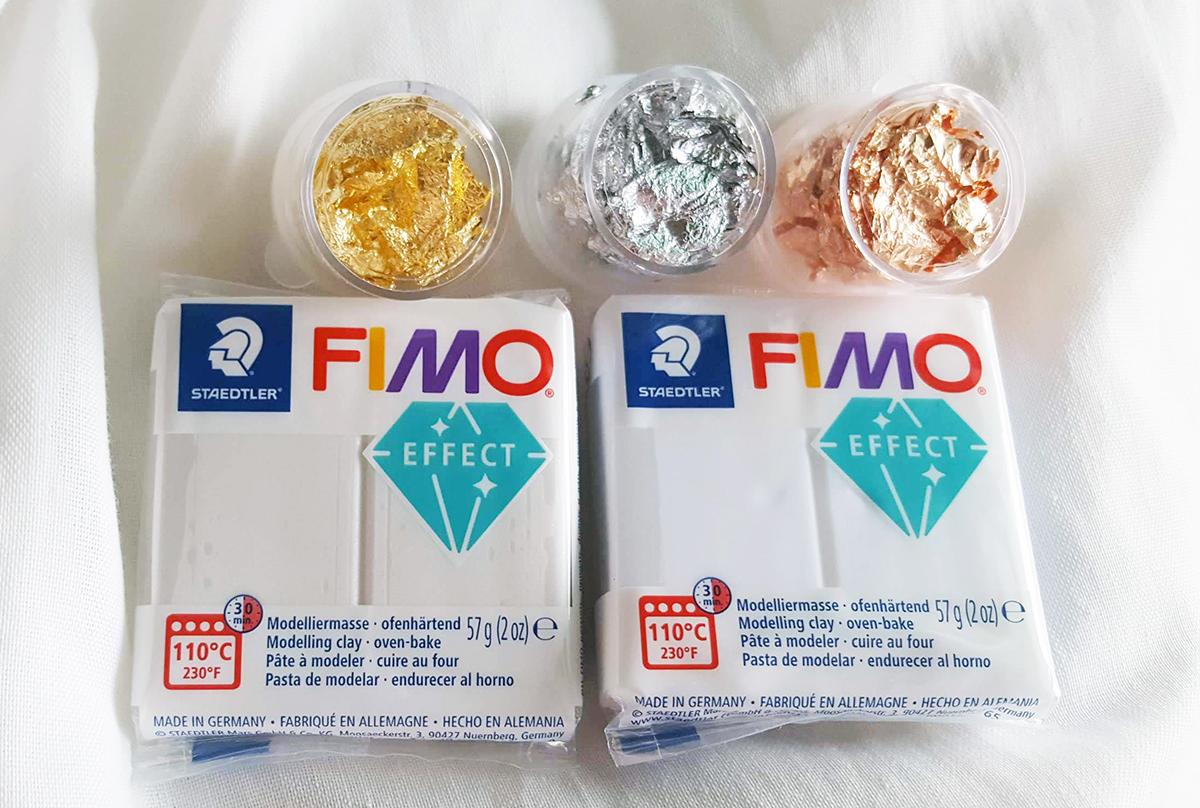 Aplicar folha de Ouro em Fimo | ComprarFimo.pt | Acabamento Fimo
